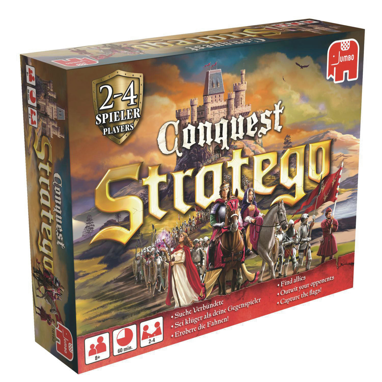 Jumbo Stratego Conquest Verpackung