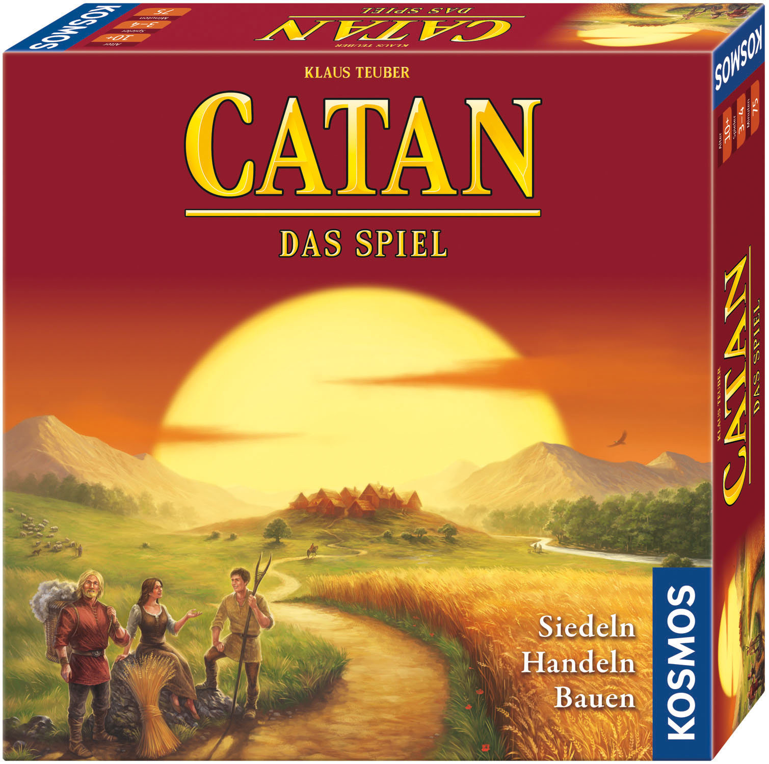 CATAN aktuelle Version Copyright KOSMOS